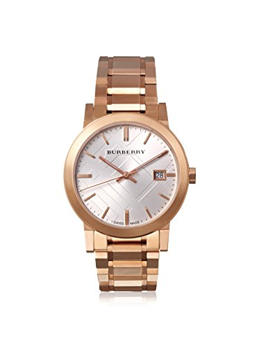 Burberry Women's BU9004 The City Rose Gold-Plated Stainless Steel Watch