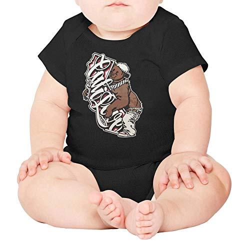 Honey Bear Hugs - Yndhasd Cute Baby boy Girl Onesie California Bear Hug The Map Words shrt Sleeve Cotton Outfits