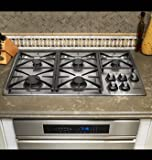 Dacor Preference Series 36 inch Stainless Steel Gas Cooktop - RGC365SNG