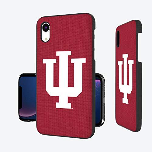 Keyscaper KSLMXR-00IU-SOLID1 Indiana Hoosiers iPhone XR Slim Case with Solid Design