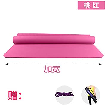 YOOMAT 102544 - Esterilla de Yoga de Doble Grosor de 120 cm ...