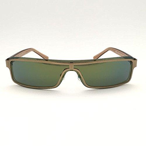 Adolfo Dominguez UA-15030-104 Gafas de sol, Green/Gold, 45 ...