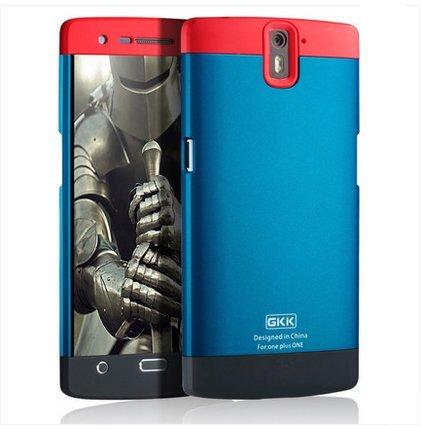 new concept 66500 f0711 Armor GKK Full Body Protector Hard Back Case Cover For OnePlus One 1st Gen  [Red+Blue+Black]