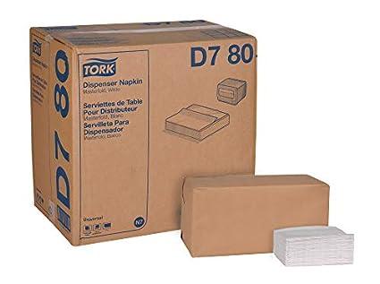 Tork Universal D780 Masterfold Dispenser Napkin ,1-Ply, 13