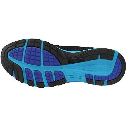 sale retailer 621a8 1d1f8 ASICS Men's Dynaflyte 2 Black/Blue/ T7D0N Black/Blue/Limoges