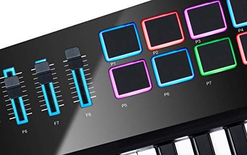 Alesis Vortex Wireless 2 USB/MIDI Keytar Controller with Gator GKBE-49 Economy Keyboard Bag