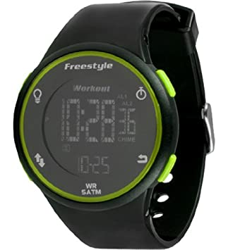 Freestyle Unisex 101376 Cadence Round Fitness Workout Green Watch
