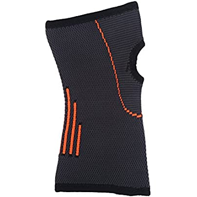 Fishlor Wrist Support 1pc Black Unisex Sports Nylon Wrist Support Sleeve Protector Guard Protective Wristband Estimated Price -