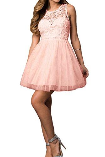 Ivydressing - Vestido - trapecio - para mujer rosa claro