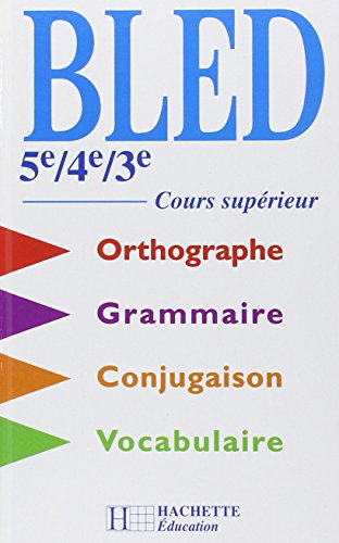 [Book] Cours d'orthographe, 5e, 4e, 3e, 2000 [R.A.R]