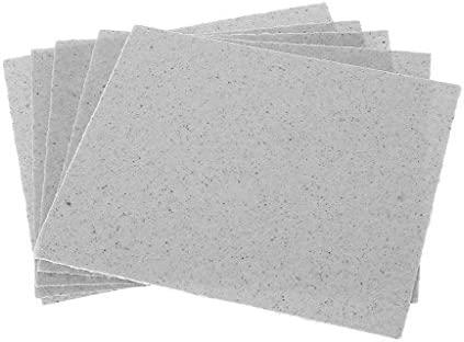 12 x 12 cm/4.7 x 4.7inch Microondas Glimmer placas ...