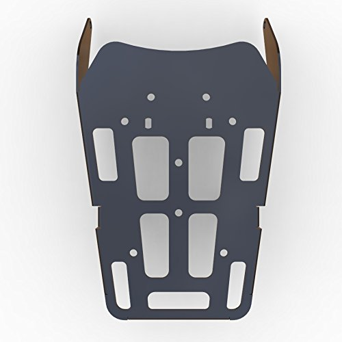 (Cargo Rack Luggage Carrier Utility Rear Tail Holder Black Powdercoat fits: 12-16 Honda CRF250L - Immix Racing - 100-011-Black)