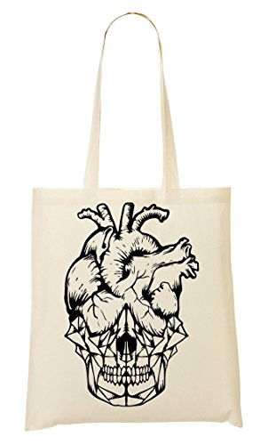 Mano Sketch Compra De Skull Bolso Black Bolsa De Heart La Sqn4Eg7WUX