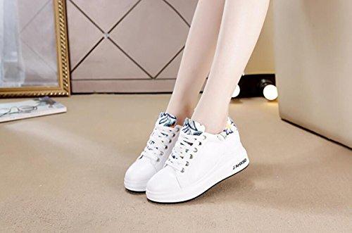 ed scarpe comfort sportive White donna estate da scarpe GTVERNH primavera e shoe letteratura bianco arte single wanXpAnq4