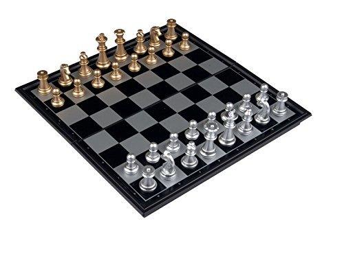 【予約販売品】 Travel Magnetic Chess a Set Board Magnetic measures: 25x25x2 cm when Christmas open with a Storage box Christmas Thanksgiving Gifts B01N64HL9G, 立山町:db8d5748 --- cygne.mdxdemo.com