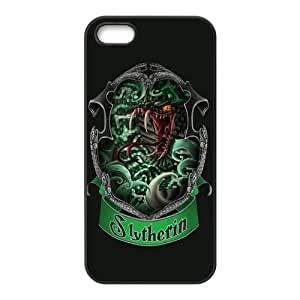 Harry Potter Customized Slytherin Apple Iphone 5 5s Hard Case Cover phone Cases Covers