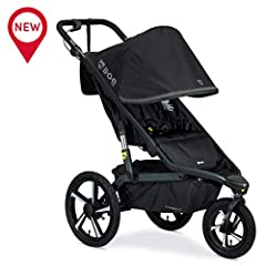 Adventure calling your name? The BOB alterrain Pro jogging stroller is ready to hit the ground running. With smoothshox suspension and air-filled tires, you and your little explorer can take on any terrain. Plus, the ergonomic handbrake puts ...