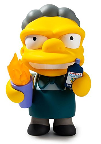 Kidrobot The Simpsons Flaming Moe Medium Figure Standard]()