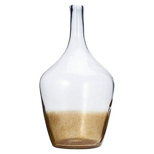 Threshold Demijohn Floor Vase - Clear/ Gold Fleck 21.65