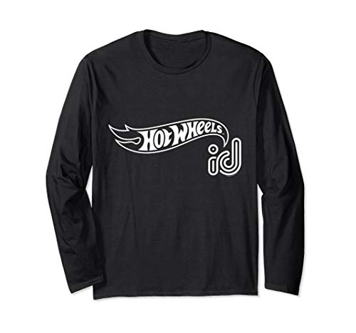 - Hot Wheels ID White Logo Long Sleeve T-Shirt