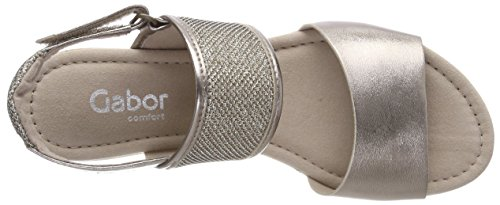 Gabor Kvinder Komfortabel Sport Brune (mutaro (cork)) Strappy Sandaler c8CDXDzx