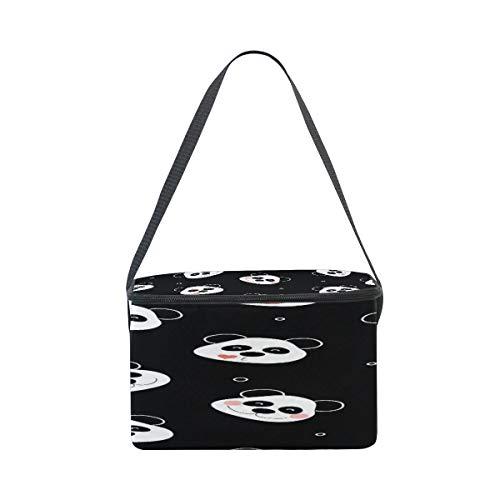 Borsa Polka Design Use7 Panda il termica Emotion Dot per pranzo q1g0wC