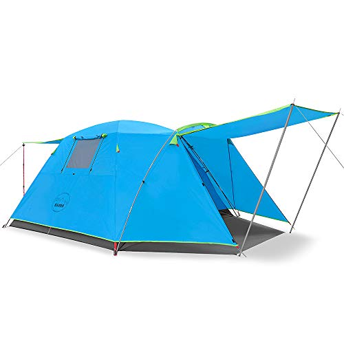🥇 KAZOO Outdoor Camping Tent Durable Waterproof
