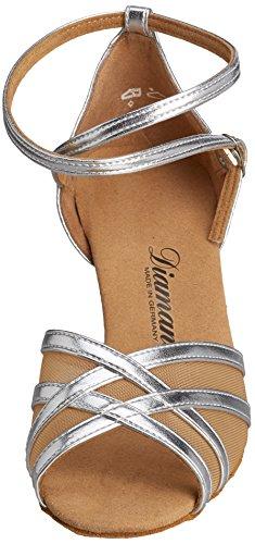 Chaussures De Danse Diamant Femme 035-077-013 Argent Synthétique