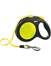 Flexi Neon Tape Retractable Lead