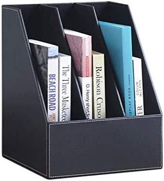 Ordnungsmappe LF- File Holder Leather File Holder Bürobedarf Multi-Cap Schreibtisch Creative Book Stand Rack A