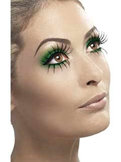 031fc1f91e0 Smiffys Spiderwebs Eyelashes with Glitter - Blue: Fever: Amazon.co ...