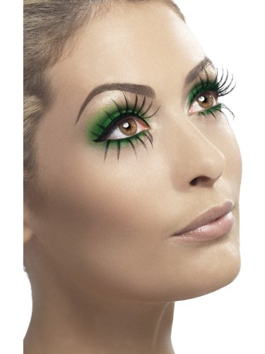 [Fever Women's Eyelashes, Top and Bottom Set, Black, Contains Glue, One Size, 34537] (Betty Boop Wig)