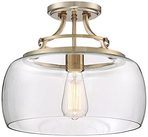 Brass Charleston 1 Light (Charleston Brass 13 1/2