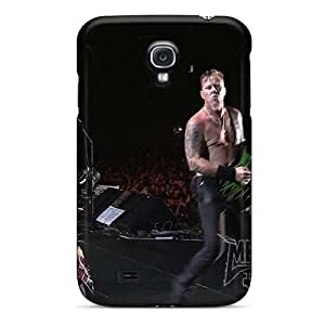 Durable Hard Cell-phone Case For Samsung Galaxy S4 With Allow Personal Design Trendy Metallica Pictures EricHowe