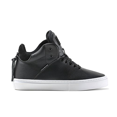 Clear Weather One-Ten Black Nubuck HighTop Leather Sneaker Size 11.5 US Men, 13 US Women