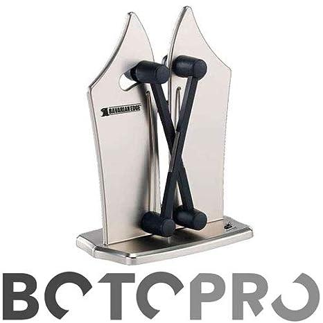 BOTOPRO - Bavarian Edge, el afilador de Cuchillos Profesional. Afila en Segundos Cualquier Tipo de Cuchillo, Liso y de Sierra - Anunciado en TV
