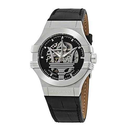 Maserati Men's R8821108001 Analog Display Quartz Black Watch