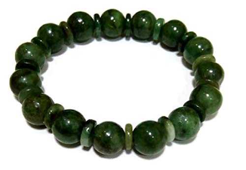 Green Myanmar Jade Bracelets for Good Fortune ,Lucky and ()