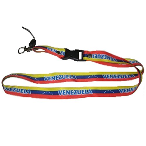Buy Bargain Lanyard Neck Strap Necklace Key Chain Card Badge Holder - America (1-Pack, Country: Vene...