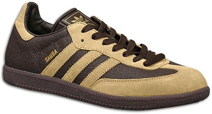 Amazon.com | adidas Originals Men's Samba 2 Sneaker, ESP/Sand ...