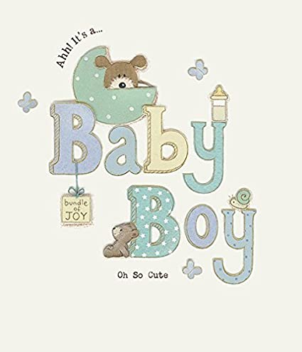 Amazon bundle of joy new baby boy congrats greeting card birth bundle of joy new baby boy congrats greeting card birth congratulations m4hsunfo