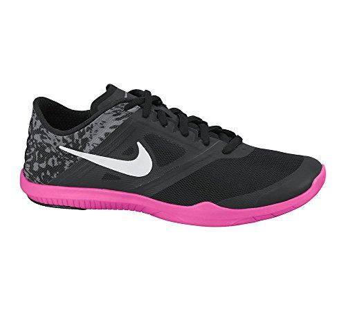 2 Pow Mujer Nike Para W Print pink Studio White De Grey Tenis Trainer Zapatillas Negro cool black qtHBawtx