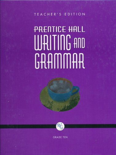 Prentice Hall Writing And Grammar 10 (TE)