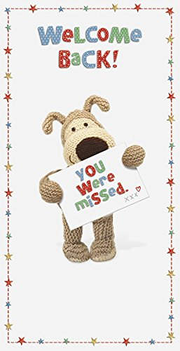 Boofle welcome back greeting card amazon office products boofle welcome back greeting card m4hsunfo