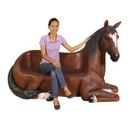Saddle Up Horse Bench Design Saddle Up H - Asian Saddle Bench Shopping Results