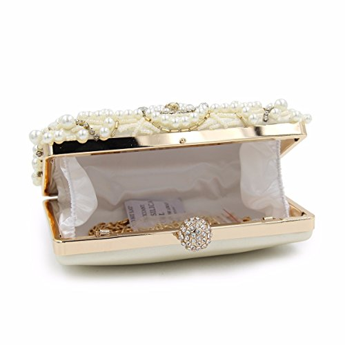 Clutches Elegant Diamonds Bag Maollmm Evening Purses Design Clutch New Wedding Party With Bags Ladies Beaded Girls Day fznzA6FWqw