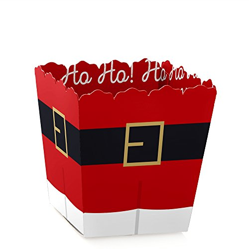 (Jolly Santa Claus - Party Mini Favor Boxes - Christmas Party Treat Candy Boxes - Set of 12)