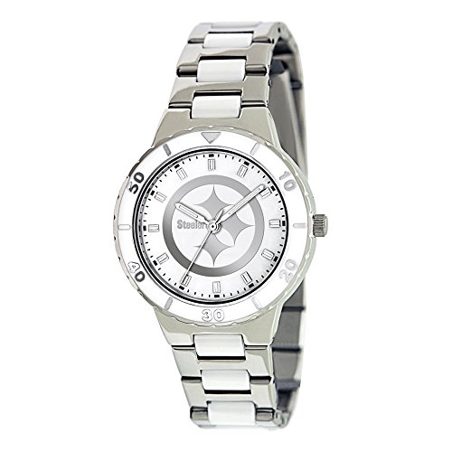 - Gifts Licensed Gifts Ladies NFL Pittsburgh Steelers Mother of Pearl Watch