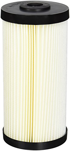 "Pentek Pentair 155405-43 S1-BB Pleated Cellulose Detritus Water Filter Cartridge 20 Micron 9-3/4""x4-1/2"", Pack of 8"