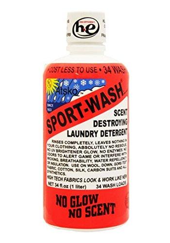 Atsko Sport Wash 1L Bottle (34 wash) ()